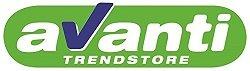 AVANTI TRENDSTORE - Kleiderschrank weiß/weiß Hochglanz ca. 226x210x54cm -