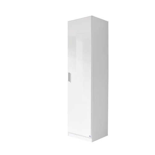 rauch Kleiderschrank Celle 1-trg., weiß/hochglanz weiß -